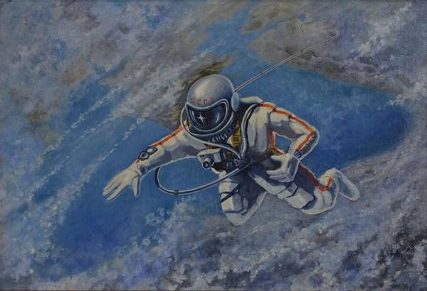 英国科学博物馆:人类第一幅太空绘画 - 每日环球展览 - iMuseum