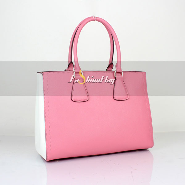 Prada-2013-Saffiano-patent-leather-tote-2438---Pink-White-b