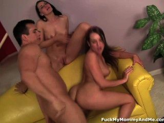 Hot Mom And Step Daughter Suck And Fuck