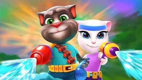 會說話的湯姆貓家族遊戲系列第8集-兒童-高清正版影音線上看-愛奇藝臺灣站
