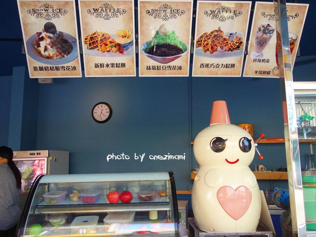 【高雄美食】楠梓 花格子。雪花冰.鬆餅專賣店 原創彩繪牆拍照好吸睛!平價的豪華幸福下午茶就在這裡ヾ ...