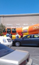 I finally got to see the oscar meyer weinermobile in person!