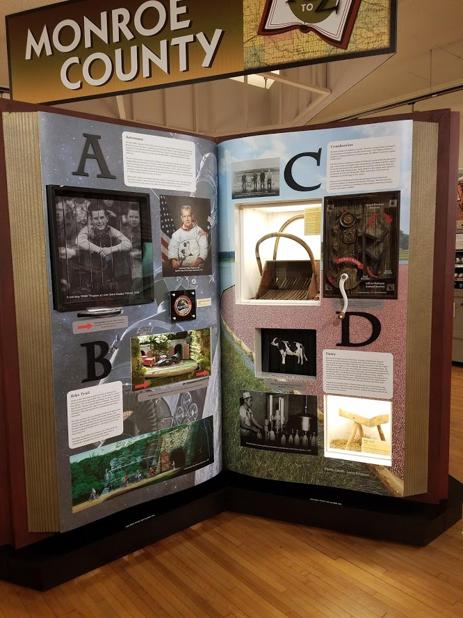 Interactive Exhibit Monroe County A-D Pages