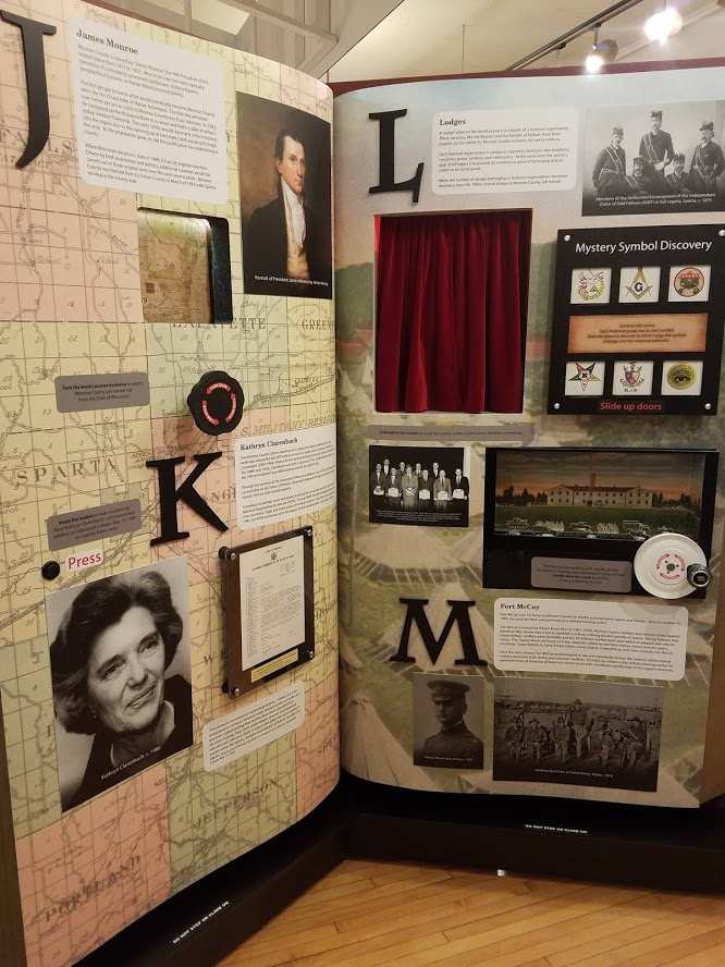 Interactive Exhibit Monroe County J-M Pages