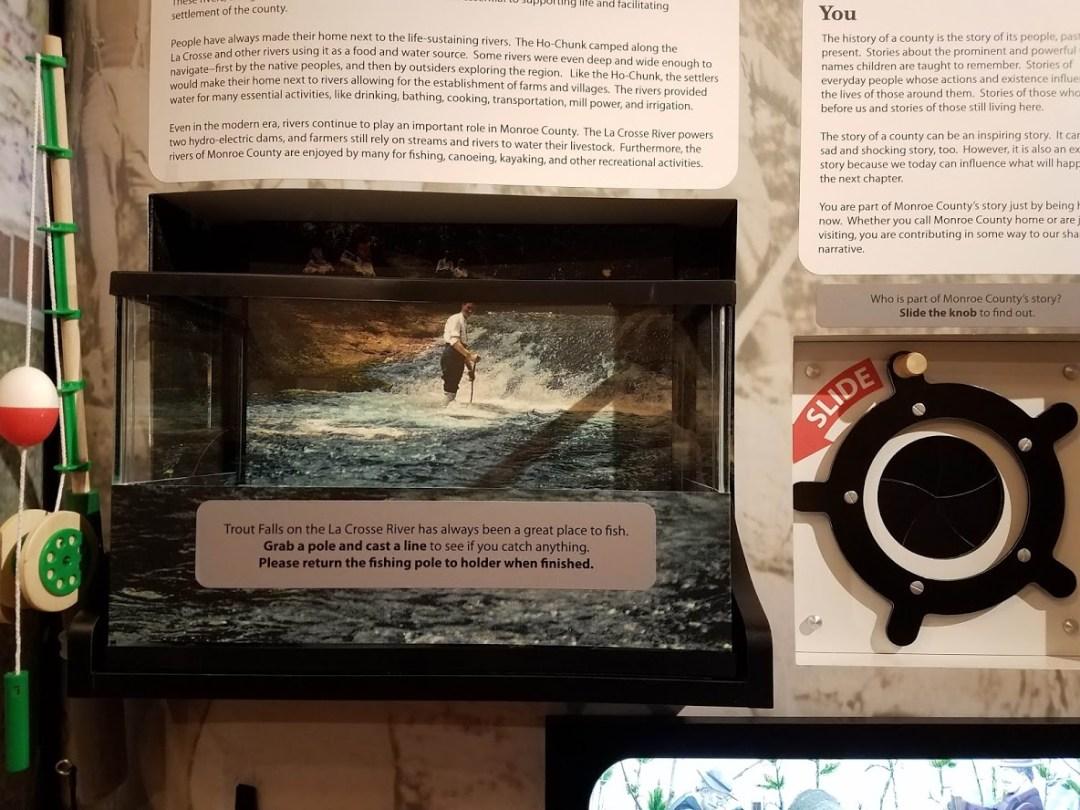 Trout Falls Interactive