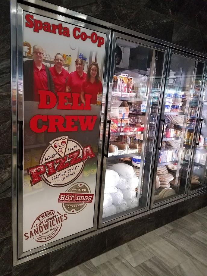 Convenience Store Freezer Graphics