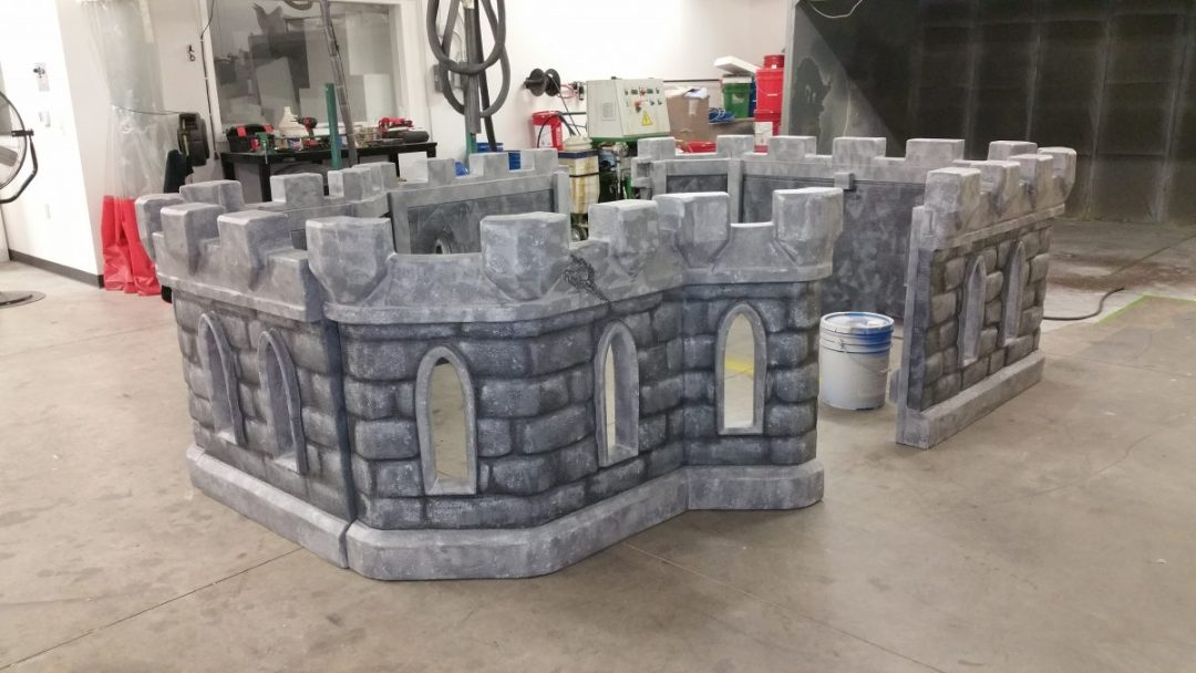 Foam Sculpting - Childrens Themed Playground Equipment