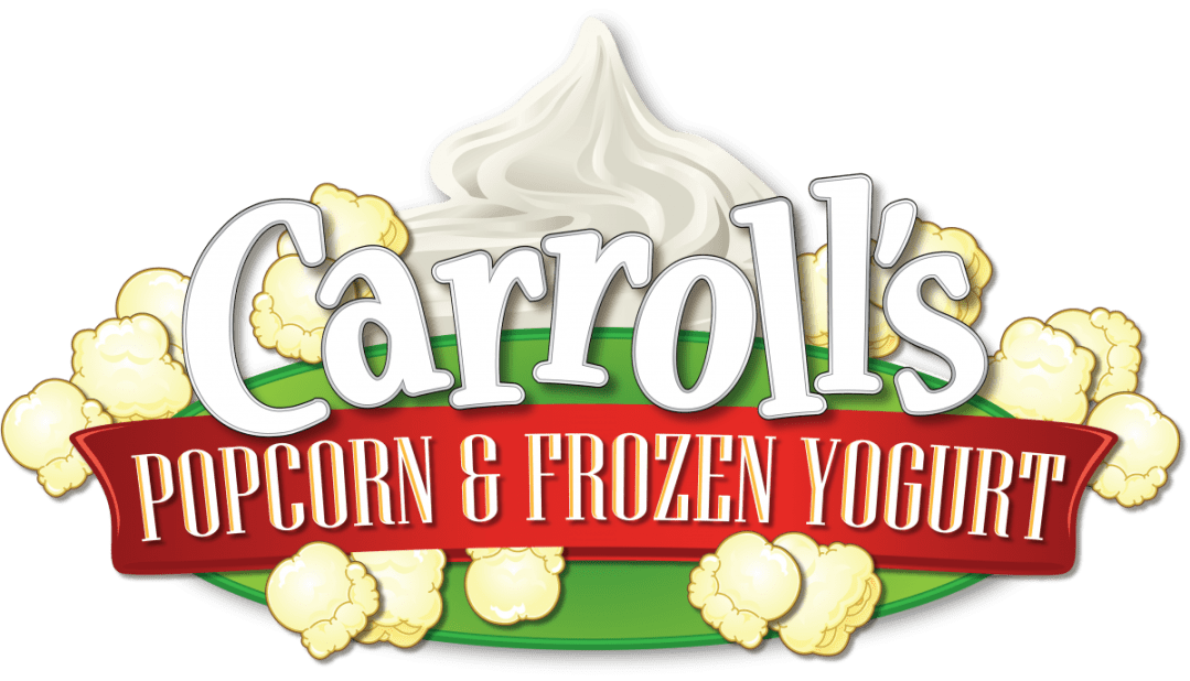 Logo Design - Carroll's Popcorn & Frozen Yogurt
