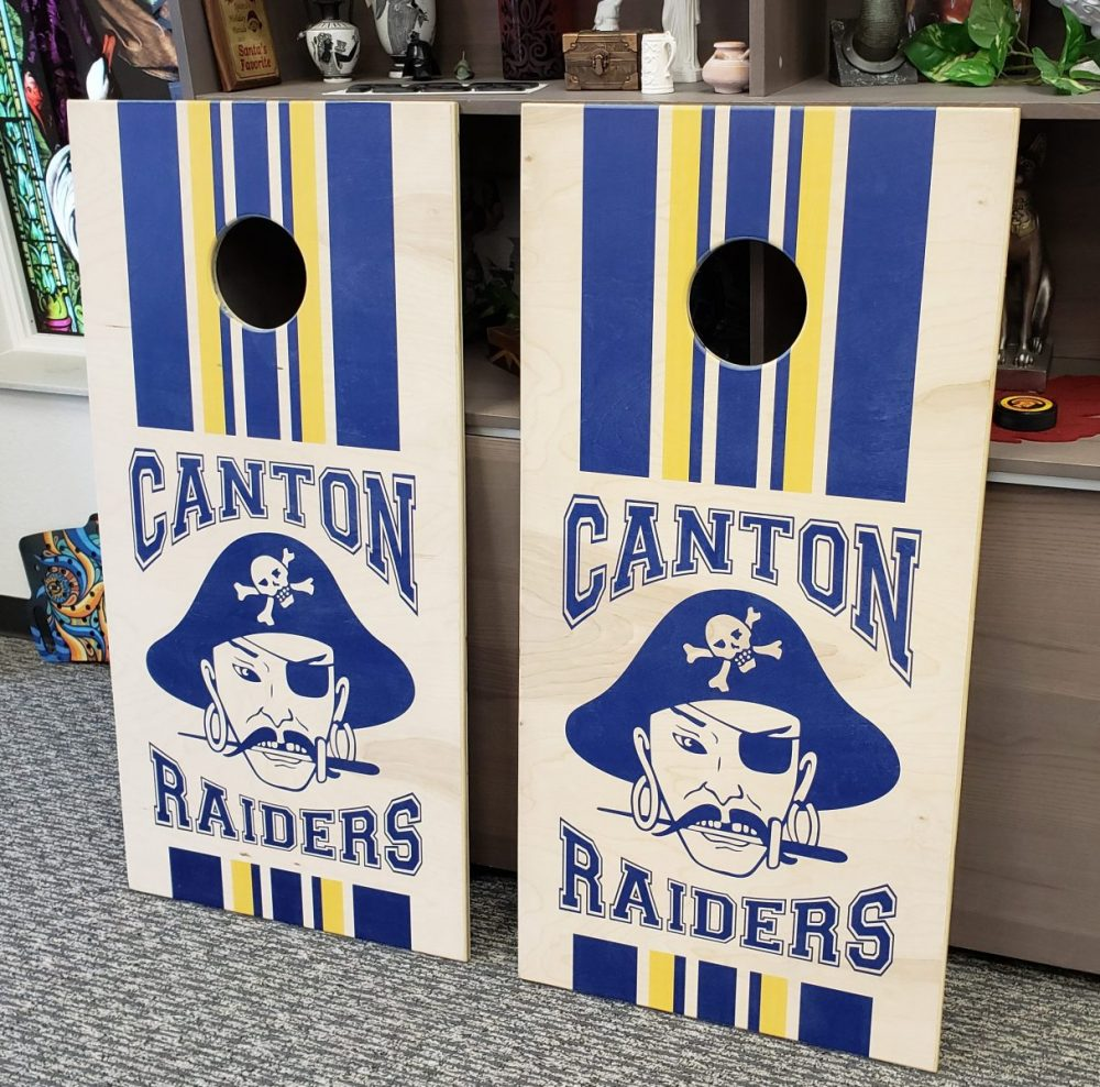 Cornhole Board Wood Prints