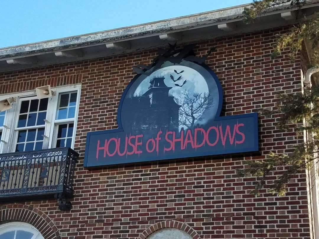 Custom Design - House of Shadows Repurposed BWW Lighted Cabinet Sign Cabinet