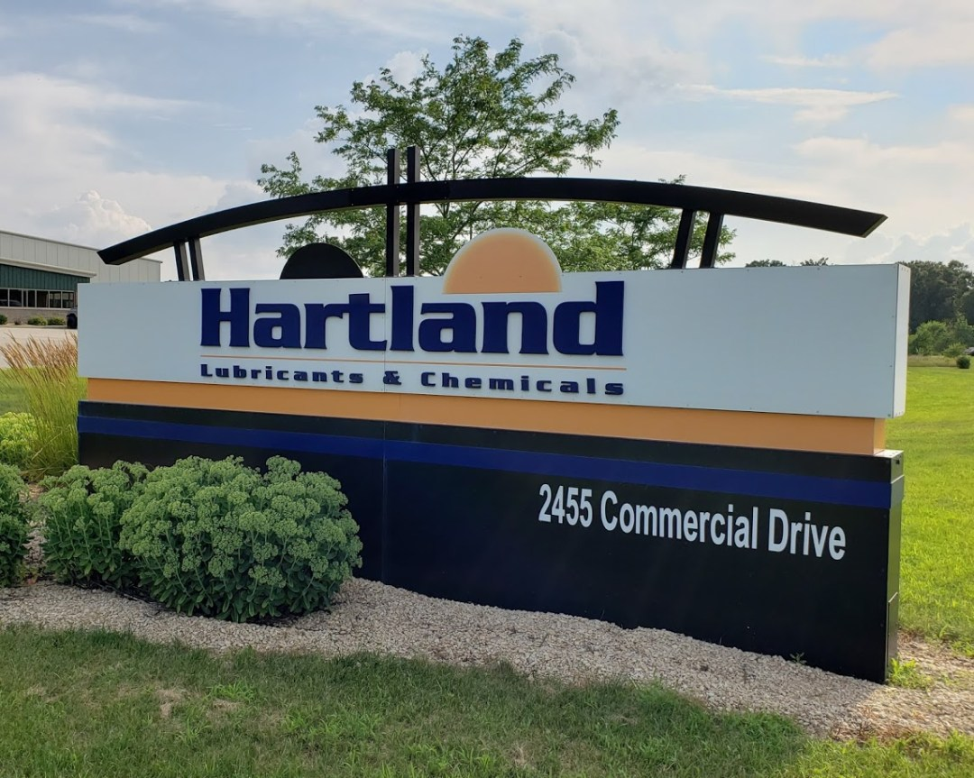 Hartland Fuels Monument Sign