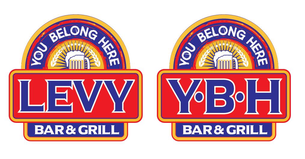 LEVY& YBH Logo Design