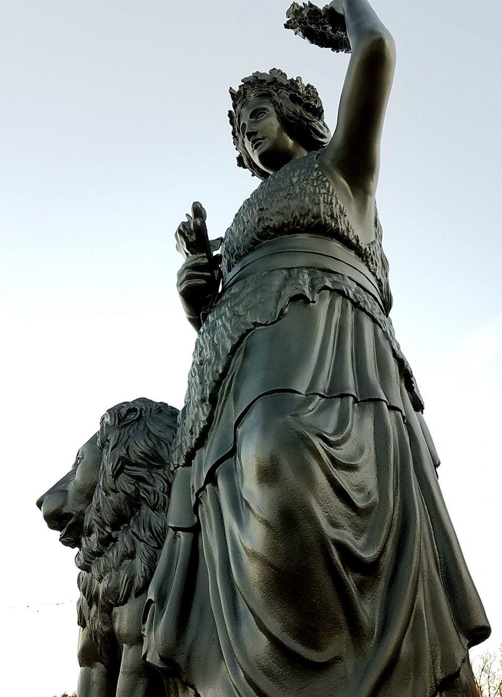 16' tall Lady Bavaria Foam Sculpture Replica - Oktoberfest USA