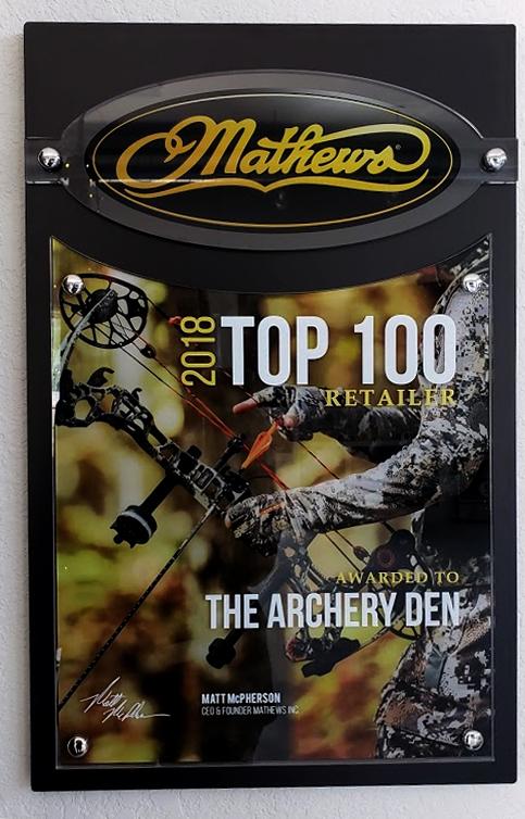 Mathews 2018 Top 100 Retailer Award