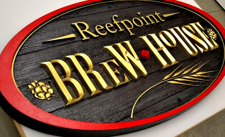 Reefpoint Brew House Sign