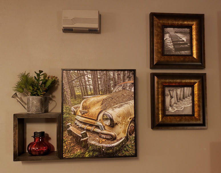 Interior Decor -  Shelf & Photo Frame Combination