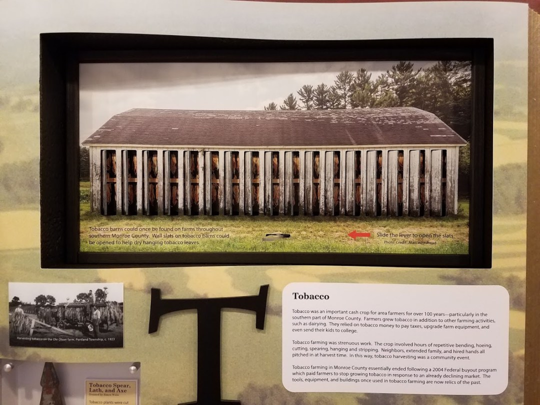 Museum Exhibit - Tobacco Barn Interactive