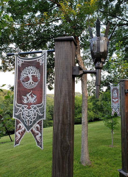 Graphic Design - Custom Pole Banners