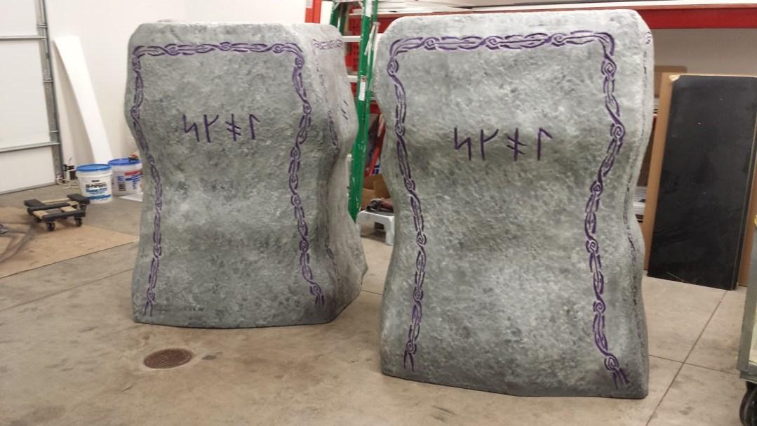 Foam Sculpting - NFL Team Intro Props - Minnesota Vikings