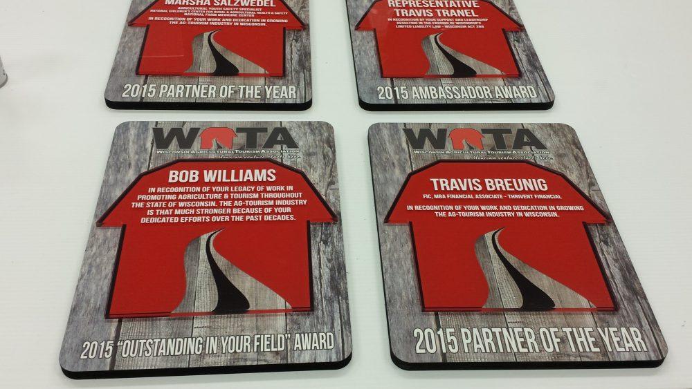 Custom Design - WATA Plaques