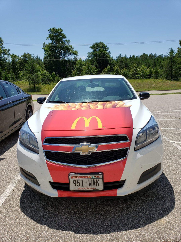 Mc Donald's Vehicle Wrap