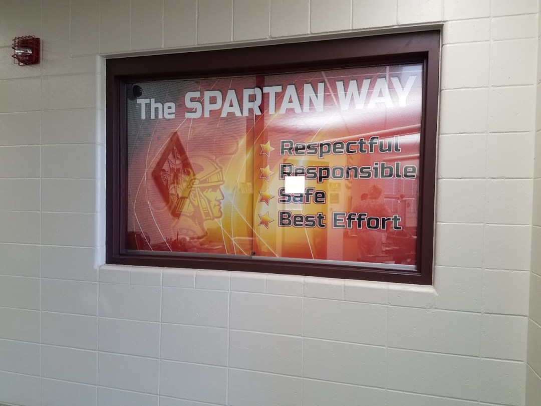 SHS Office - Window Graphics
