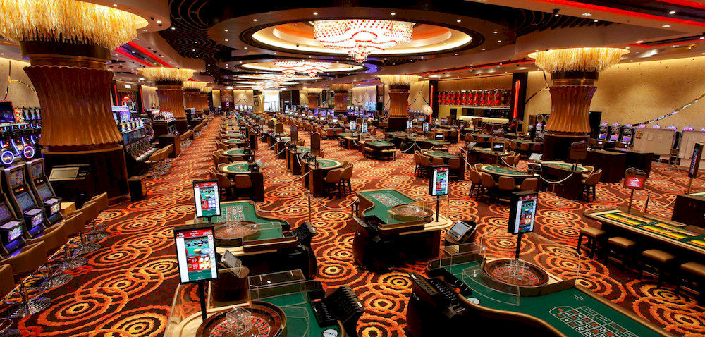 Manilla - City of Dreams - Bell Grande Casino  - Floor with Column Corsets