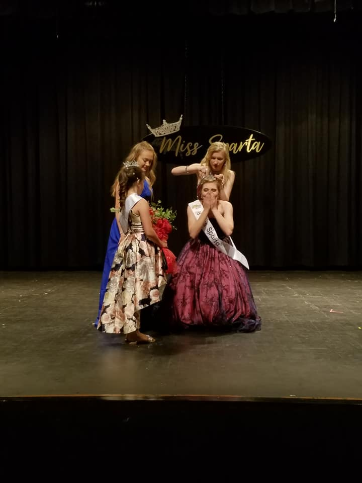 Miss Sparta 2019 Pageant Sign