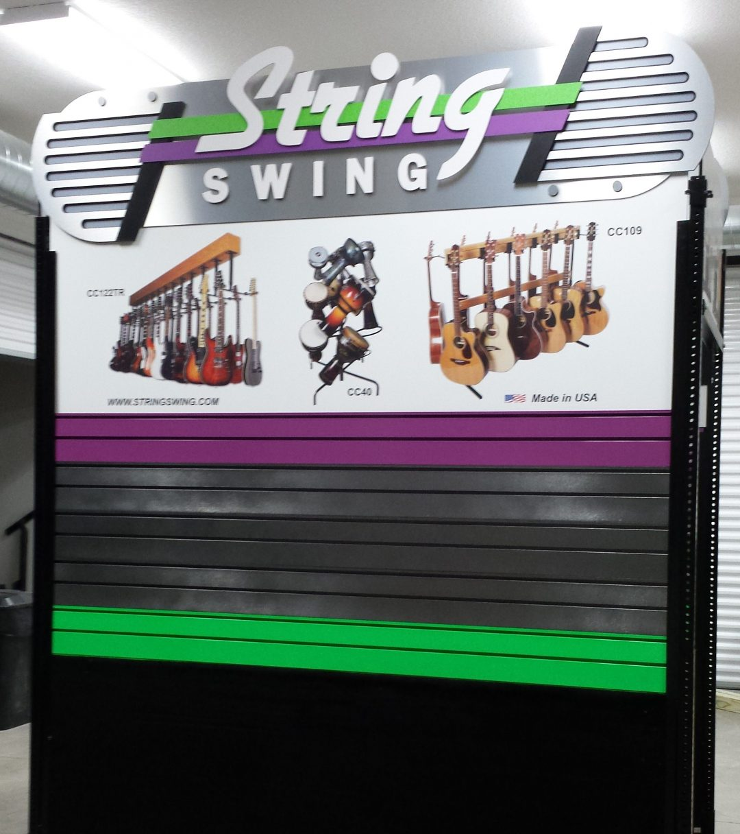 Trade Show Booth Design - String Swing