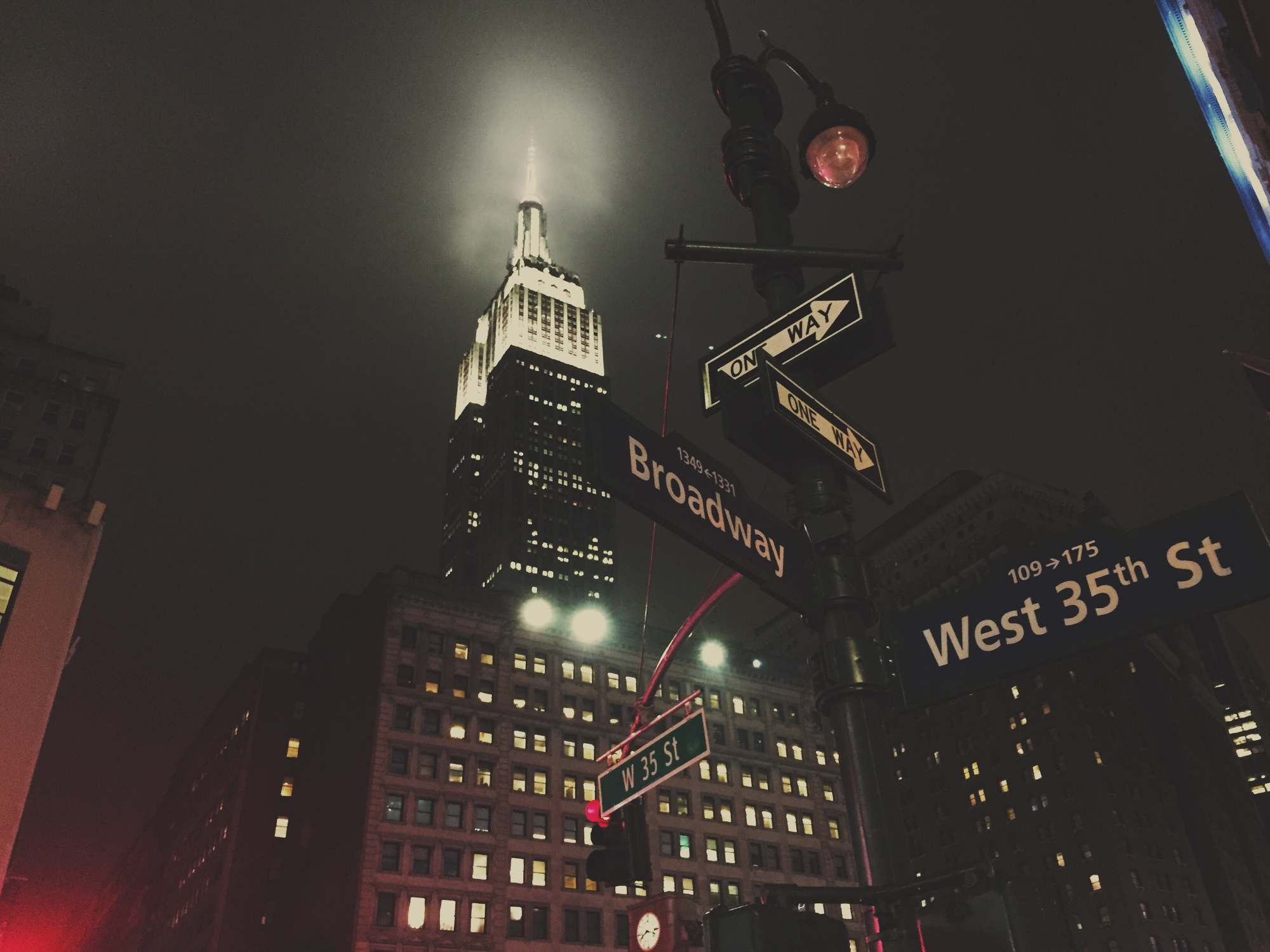 Picalls Com Empire State Building At Night By Dylan Simel