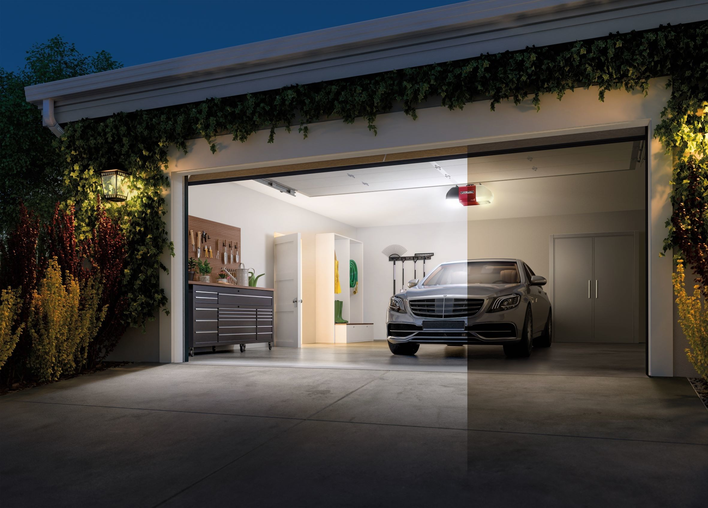 See Your Garage in An All-New Light with the LiftMaster WLED Garage