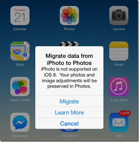 Migrate your iPhoto Library to Picasa Now