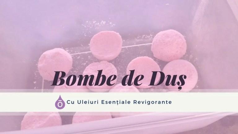 Bombe de Duș cu Uleiuri Esențiale Revigorante