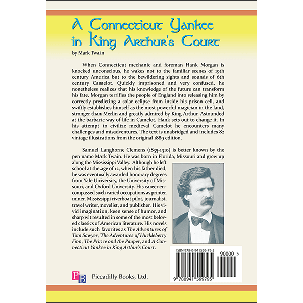 A Connecticut Yankee Back Cover