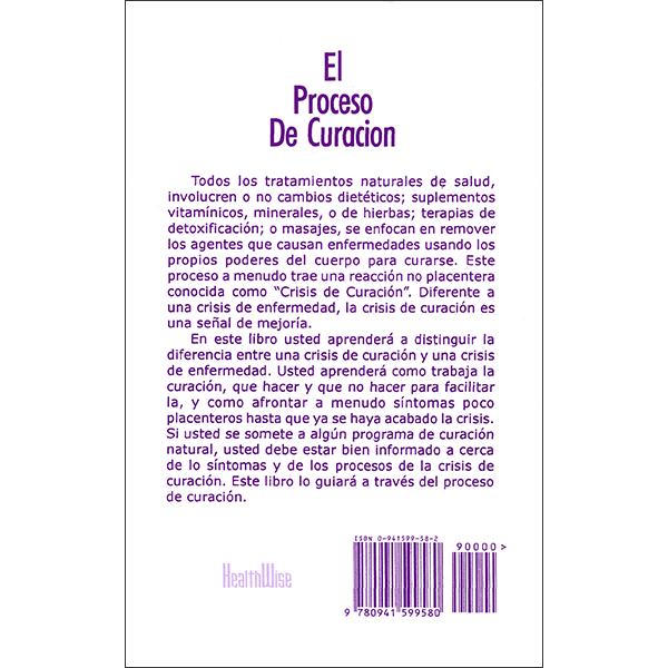 El Proceso De Curacion Back Cover