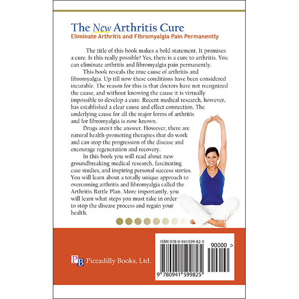 New Arthritis Cure Back Cover