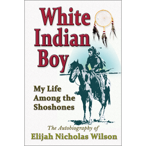 White Indian Boy Front Cover