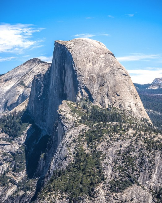 Half Dome Portrait