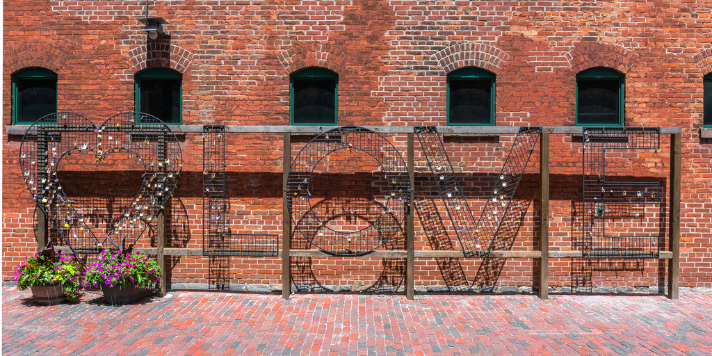 Love Locks Distillery District