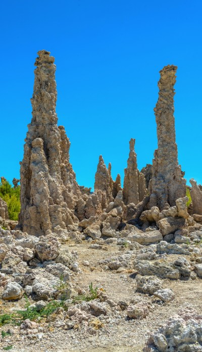 Towering tufas at Mono Lake