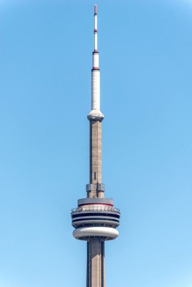 CN Tower Closeup