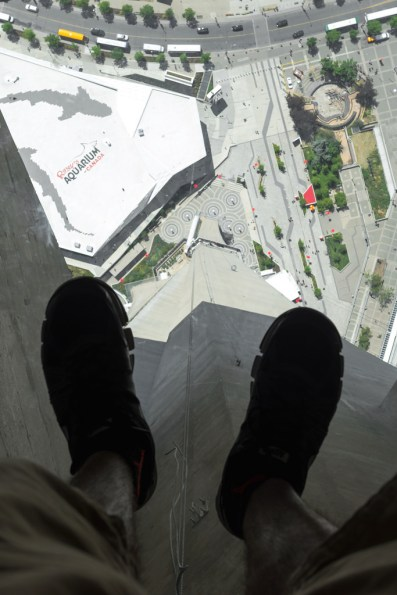 CN Tower Glass Floors