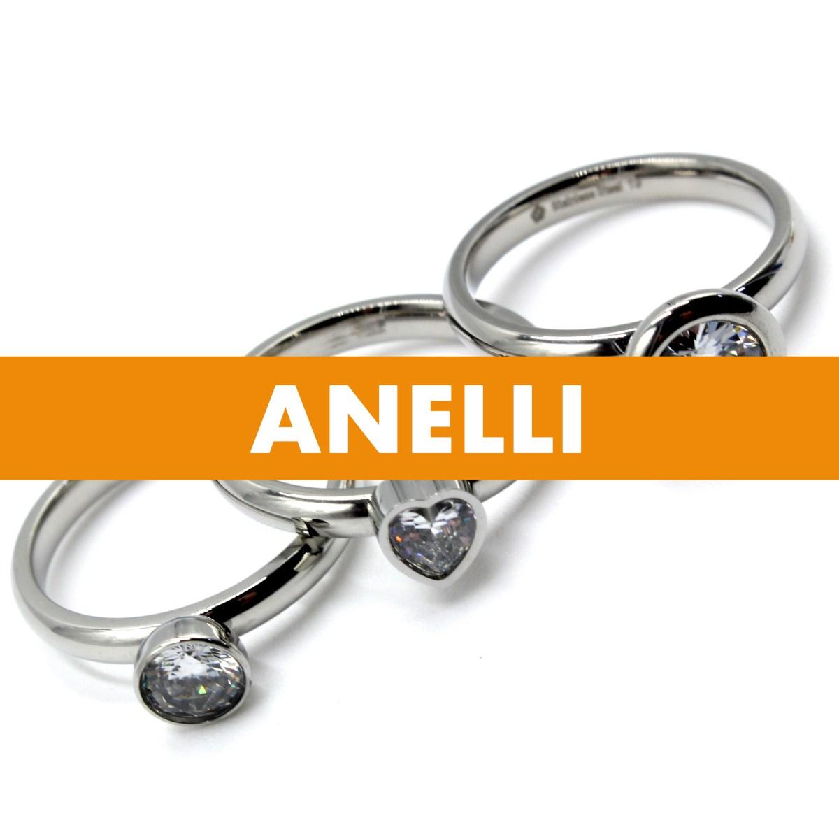 Bijoux donna, Anelli