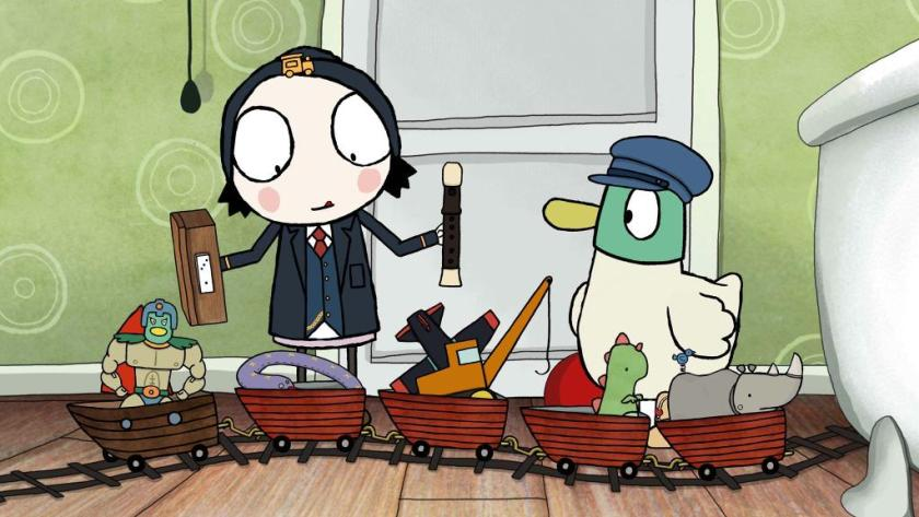 Sarah and the Duck