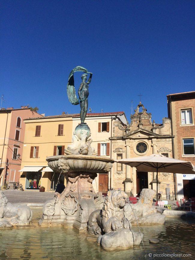 Fontana della Fortuna Fano