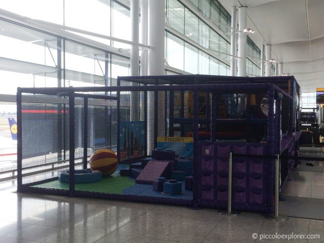 Heathrow Terminal 2 Play Area