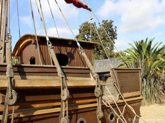 Diana Princess of Wales Memorial Playground Pirate Ship