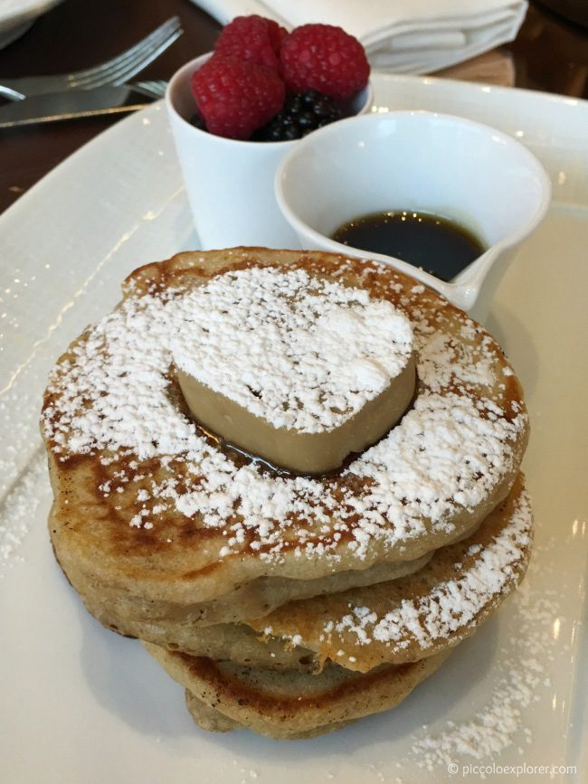 Buttermilk Pancakes at CUT at 45 Park Lane Brunch