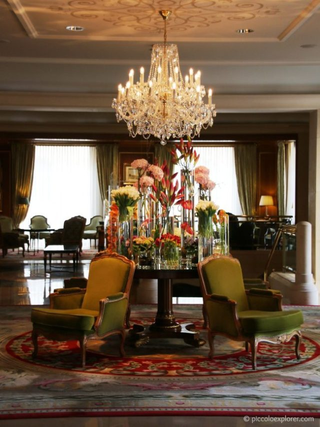 Four Seasons Prague Lobby