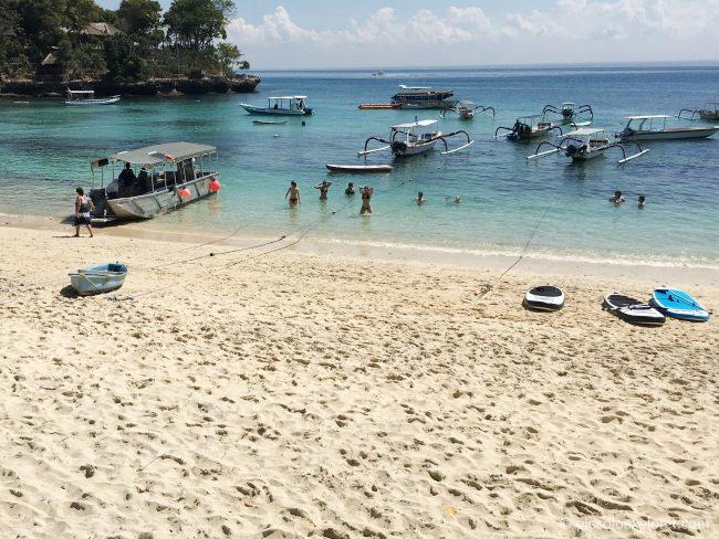 Mushroom Beach, Nusa Lembongan